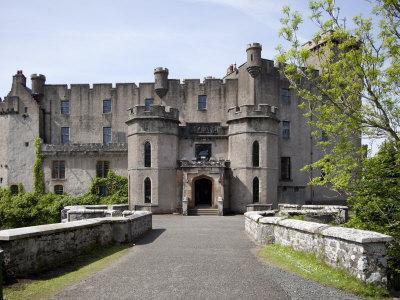 Dunvegan Castle, Isle of Skye, Scotland, United Kingdom, Europe