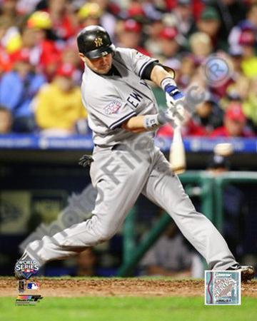 Nick Swisher Game three of the 2009 MLB World Series