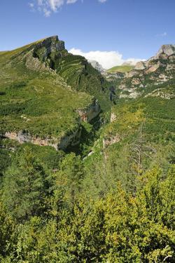 Anisclo Canyon and Eroded Karst Mondoto Peak, Ordesa and Monte Perdido Nat'l Pk, Huesca, Spain by Nick Upton