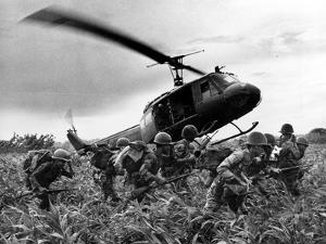 Vietnam War U.S. Army Helicopter by Nick Ut