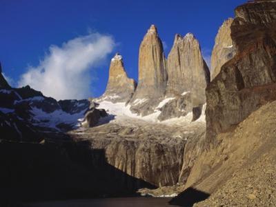 Rock Formation at Tierra Del Fuego Natioanl Park, Chile, Latin America