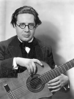 Andres Segovia (1893-1987) by Nickolas Muray