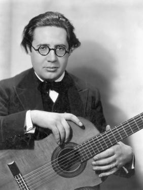 Andres Segovia (1893-1987) by Nickolas Muray