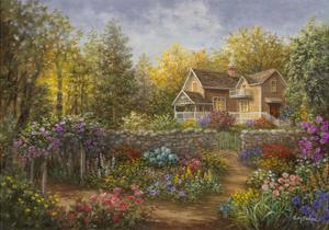 A Pathway of Color by Nicky Boehme