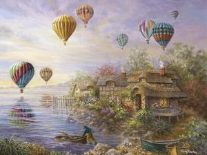Air Balloons over Cottageville by Nicky Boehme