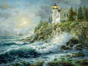 Bass Harbor Lighthouse by Nicky Boehme