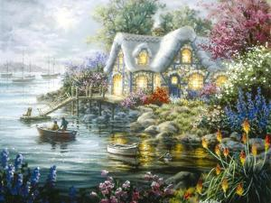 Cottage Cove by Nicky Boehme