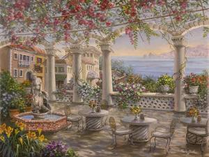 Dining on the Terrace by Nicky Boehme