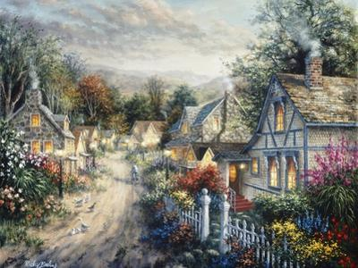 Down Cottage Lane by Nicky Boehme