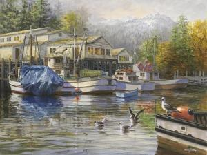 Gulls at the Marina by Nicky Boehme