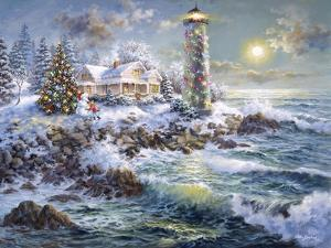 Lighthouse Merriment by Nicky Boehme