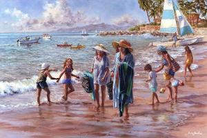 On the Beach by Nicky Boehme