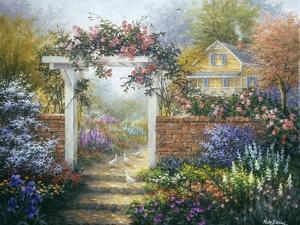 Rose Arbor by Nicky Boehme