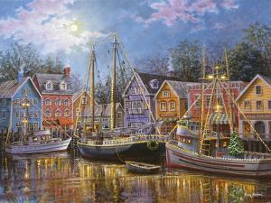 Ships Aglow by Nicky Boehme