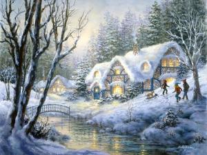 Winter Frolic by Nicky Boehme