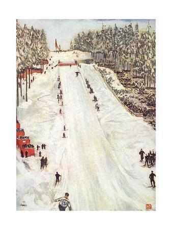 Ski Jumping in Oslo 1905