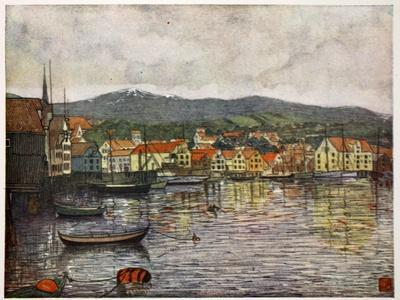 The Town of Molde, 1905