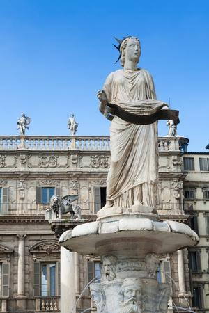 Madonna Verona Statue