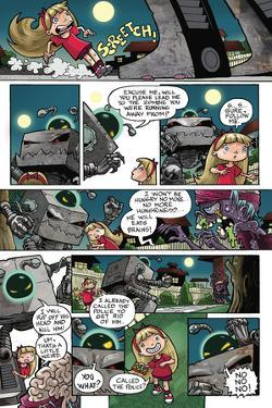 Zombies vs. Robots: No. 10 - Comic Page with Panels by Nico Pena