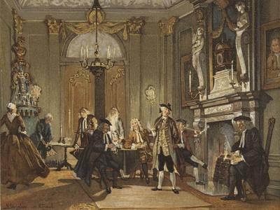Evening Meeting, Netherlands, Mid 18th Century