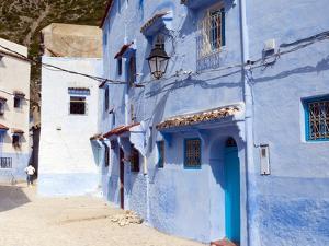 Chefchaouen (Chaouen), Tangeri-Tetouan Region, Rif Mountains, Morocco, North Africa, Africa by Nico Tondini