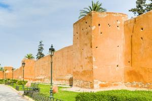 City Ramparts, Marrakech, Morocco by Nico Tondini