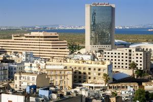 Cityscape of Tunis, Tunis, Tunisia, North Africa by Nico Tondini