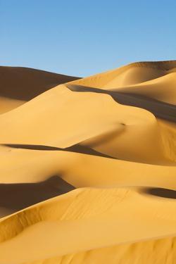 Desert Dunes, Sahara Desert, Libya by Nico Tondini