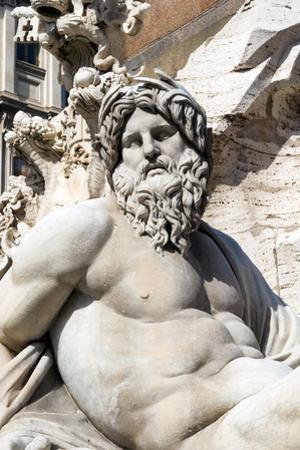 Fontana dei Quattro Fiumi, Piazza Navona, Rome, Latium, Italy, Europe by Nico Tondini