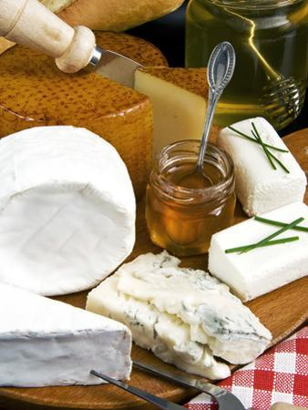French Cheeses and Honey, France by Nico Tondini