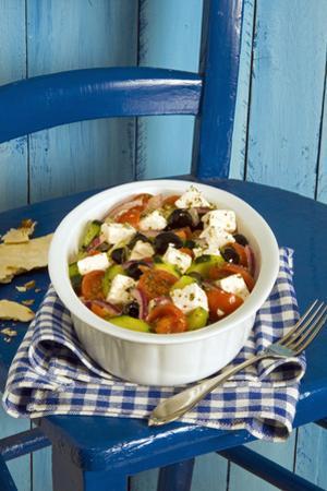 Greek salad by Nico Tondini