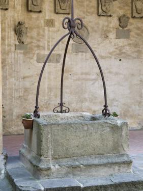 Medieval Well, Palazzo Dei Vicari, Scarperia, Florence, Tuscany, Italy, Europe by Nico Tondini