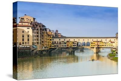Ponte Vecchio and River Arno, Florence (Firenze), Tuscany, Italy, Europe by Nico Tondini