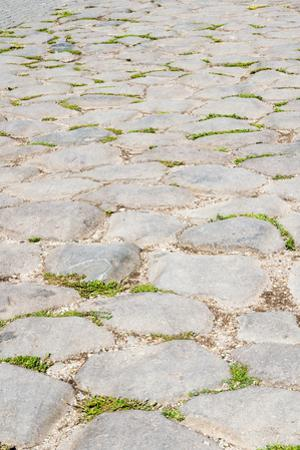 Roman road close to Colosseum, Rome, Latium, Italy, Europe by Nico Tondini