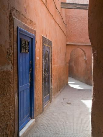 Street in the Souk in the Medina, UNESCO World Heritage Site, Marrakech, Morocco, North Africa by Nico Tondini