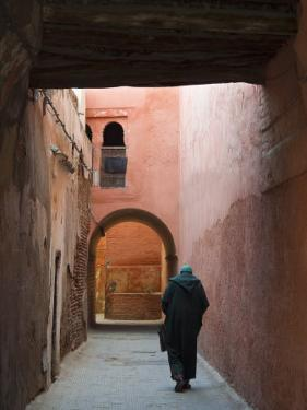 Street in the Souk, Medina, Marrakech (Marrakesh), Morocco, North Africa, Africa by Nico Tondini