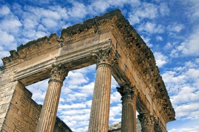 The Capitol, Dougga Archaeological Site, Tunisia by Nico Tondini