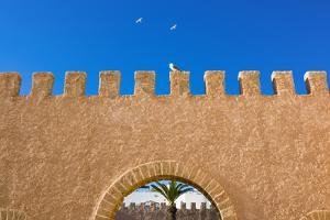 The Ramparts of the Old City, Essaouira, Morocco by Nico Tondini