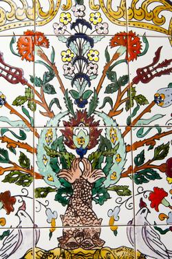 Tunisian Ceramic Tile, Tunisia, North Africa by Nico Tondini