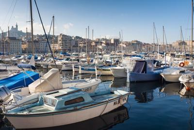 View across the Vieux Port by Nico Tondini