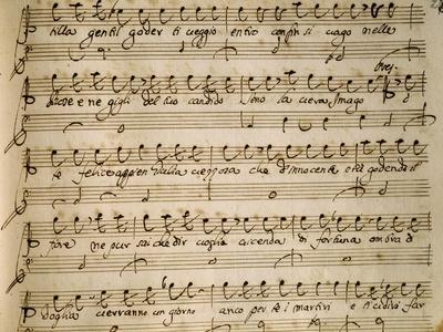 Autograph Music Score of Agrippina, 1708