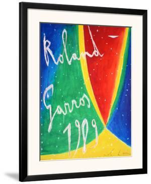 Roland Garros 1989 - De Maria by Nicola De Maria