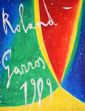Roland Garros, 1989 by Nicola De Maria