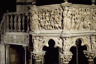 Glimpse of Pulpit, 1265-1268