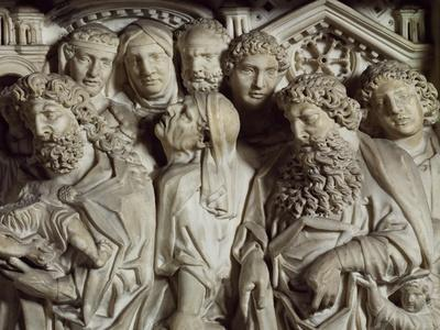 Presentation in Temple, Panel from Pulpit of Baptistery of St John, 1255-1260
