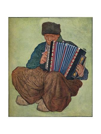 'A Volendam Musician', 19th century