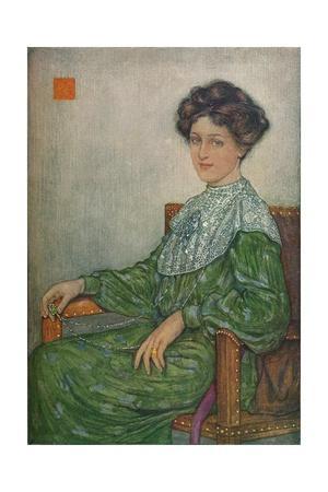 Portrait of Mrs. J. Maltwood, c1892-1906, (1906-7)