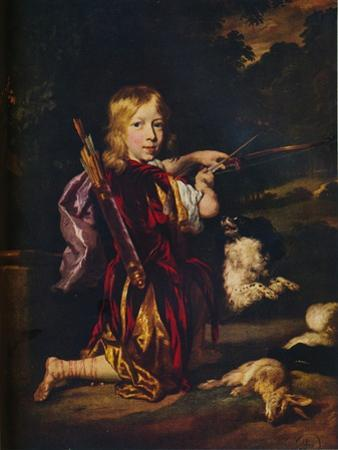 'Boy with Bows and Arrows', c1670 by Nicolaes Maes