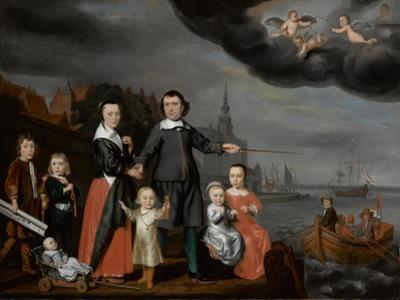 Captain Job Jansse Cuijter and His Family, 1659 by Nicolaes Maes