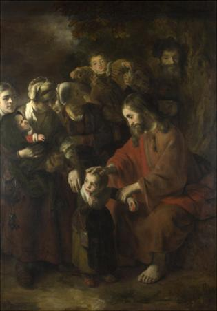 Christ Blessing the Children, 1652 by Nicolaes Maes